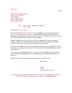 Emails Letter Templates Archives Proposalforngos